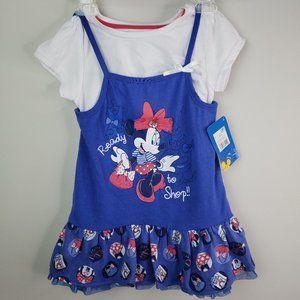 ❤ Disney Minnie Mouse Girls Shirt 5T